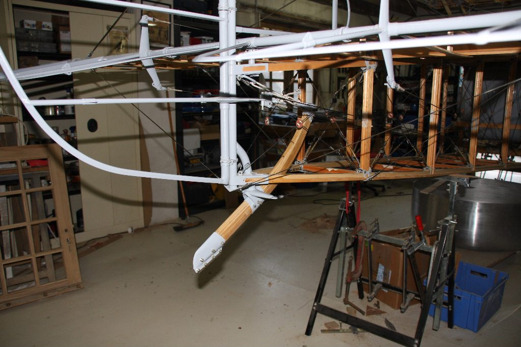 Sopwith Camel Construction Empennage John S Shaw Aviation
