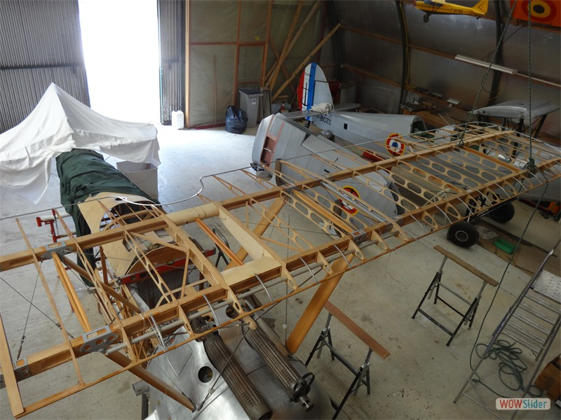 Fitting the Upper Port Wing