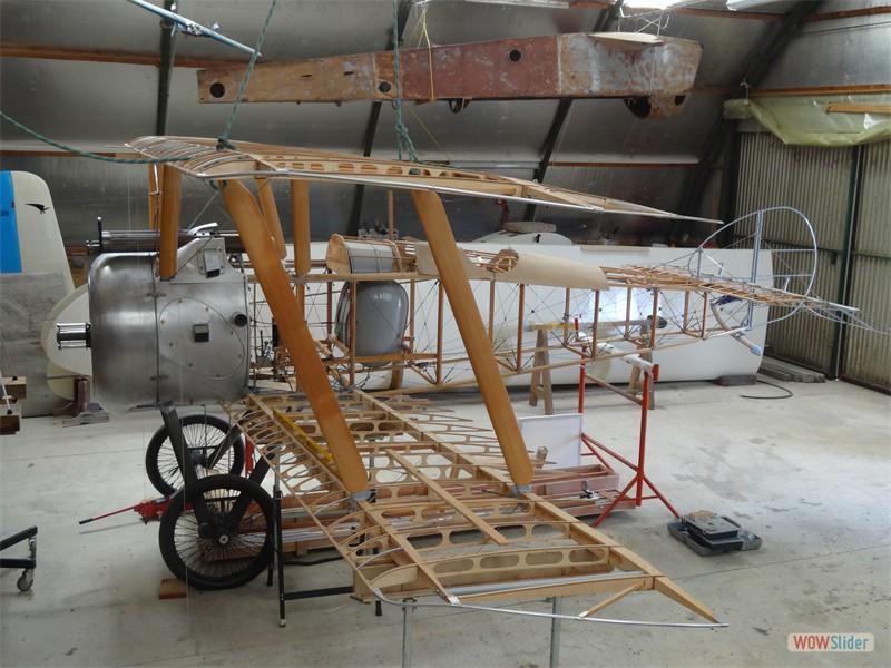 Interplane Struts fitted