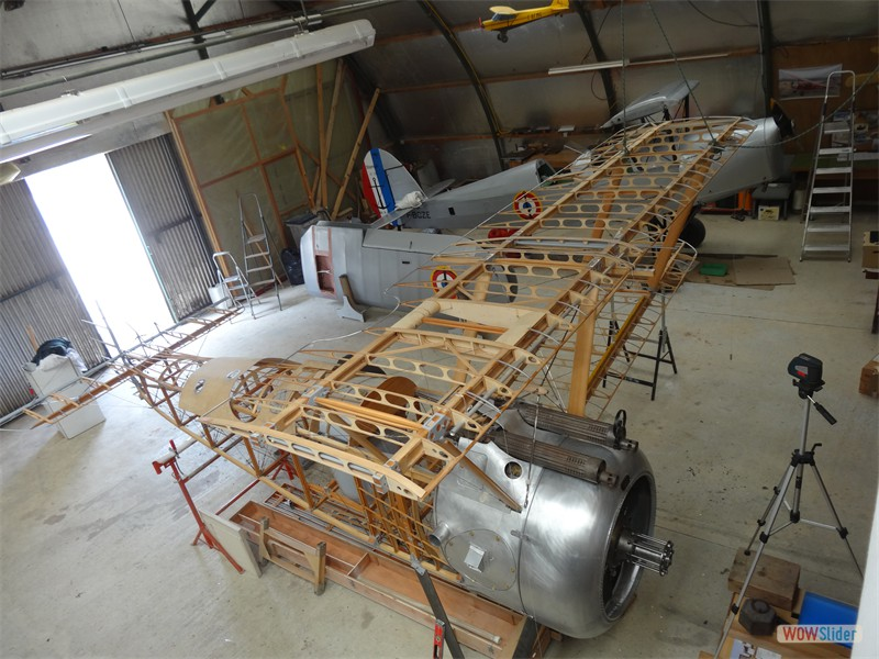 Upper and Lower Port Wings rigged