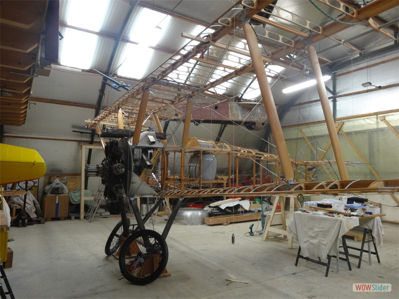 All Wings fitted and no Trestles
