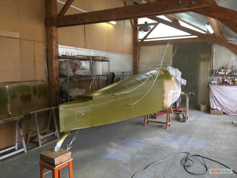 fuselage PC10 colour