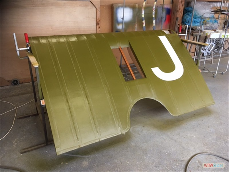 centre section painted