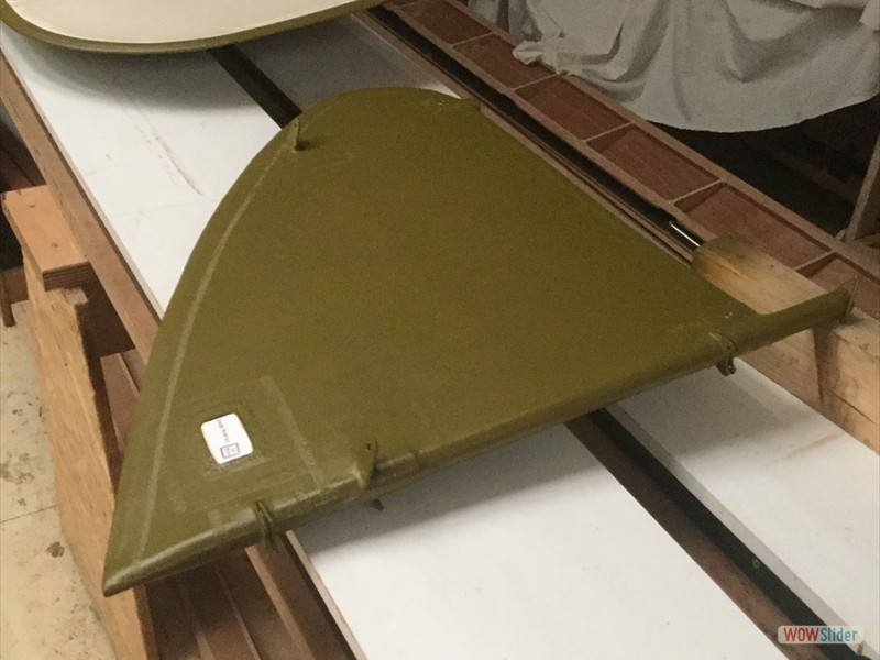 fin PC10, empennage clear underside