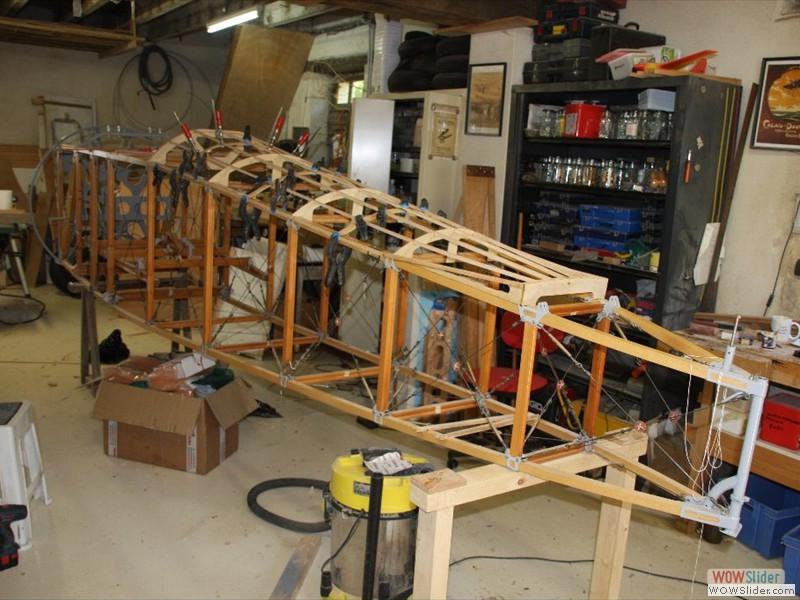 Fuselage build