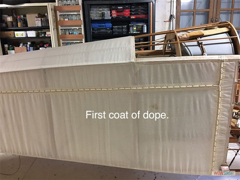 First dope coat