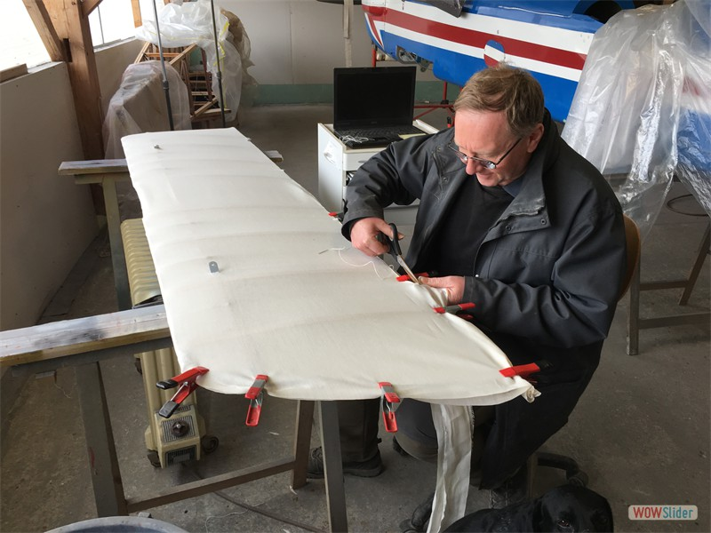 covering an aileron