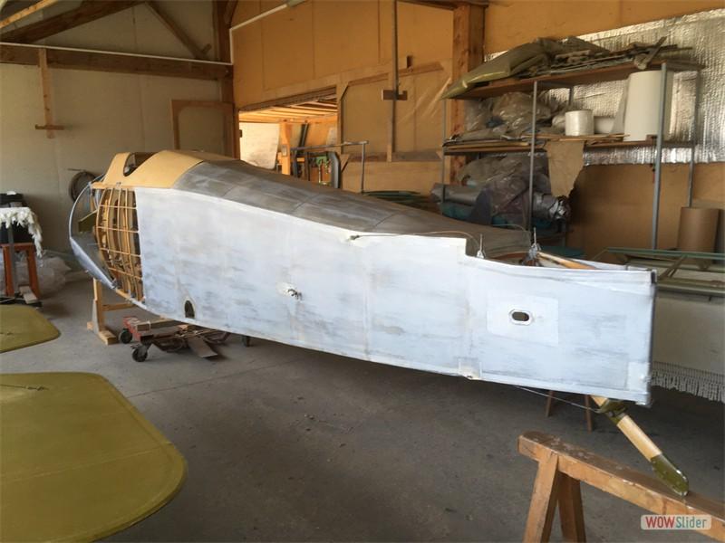 Silver doped fuselage