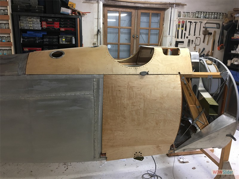 Side Panel fitted
