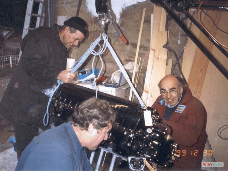 Installing the Gipsy Major