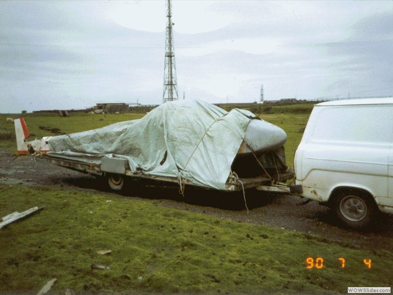 A sorry sight at Davidstow