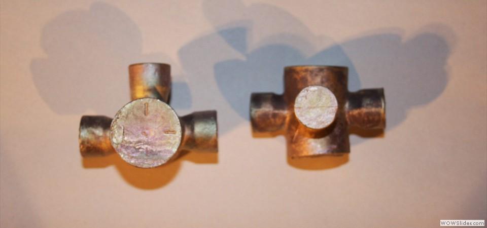 3 way valve lost wax castings