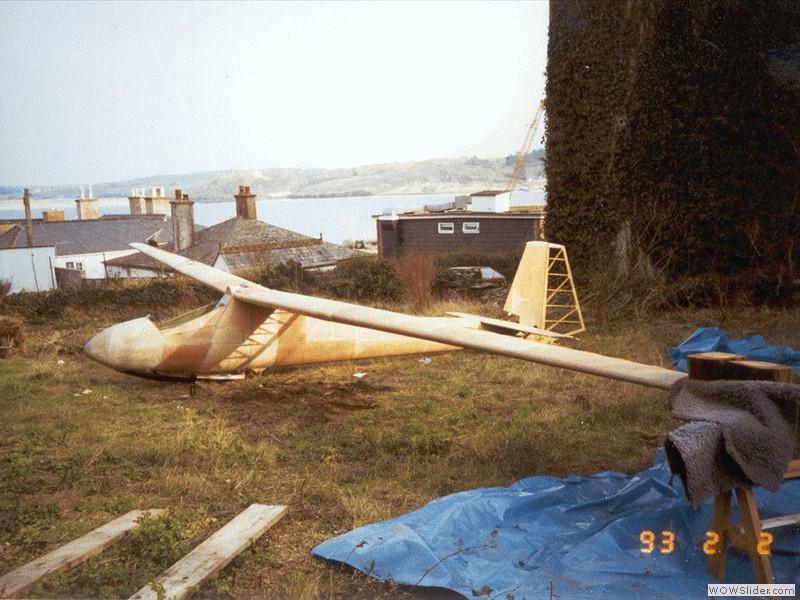 First rigging after wing & fuselage restoration