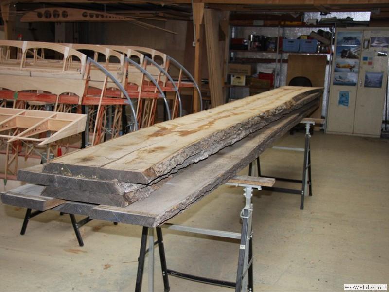 Ash planks
