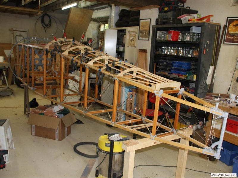 Turtle Deck being made for Camel No 2
